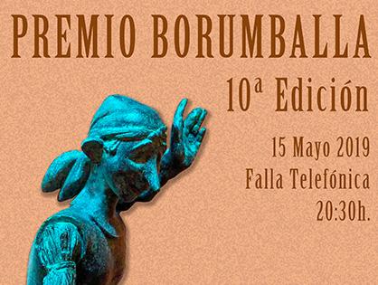 """10ª edición del """"Premio Borumballa"""""""