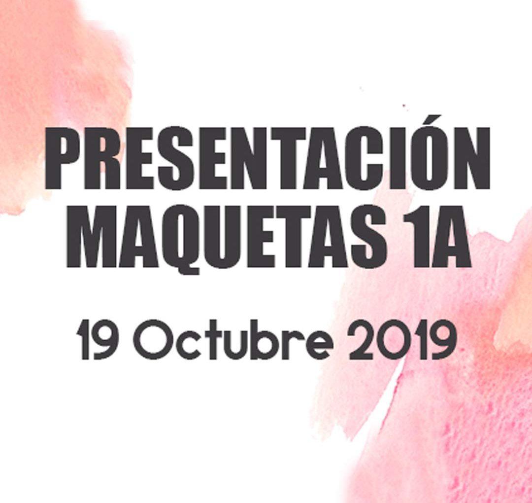 Presentación Maquetas 2020