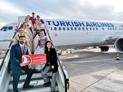 """Pasajero 8 millones"" con Turkish Airlines"